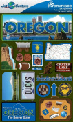 Reminisce Jet Setters 2 3-Dimensional Sticker, Oregon