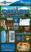 Reminisce Jet Setters 2 3-Dimensional Sticker, Oregon