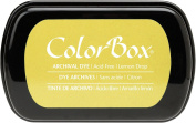 ColorBox Archival Dye Ink Full Size Inkpad, Lemon Drop