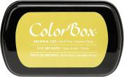 ColorBox Archival Dye Ink Full Size Inkpad, Lemon Drop