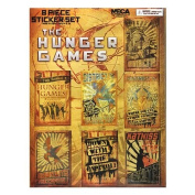 The Hunger Games Sticker Set - Propaganda Posters