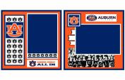 UNIFORMED Auburn University 2-Page Layout Decorative Paper, 30cm by 30cm