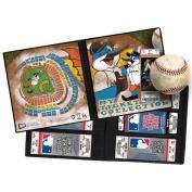 MLB Mascot Ticket Album 20cm - 0.6cm x 22cm -Miami Marlins - Billy The Marlin