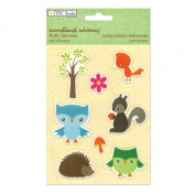 The Paper Company,Woodland Whimsey Puffy Stickers