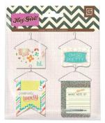 BasicGrey Hey Girl Collection Hanger Banners