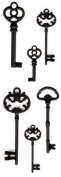 Momenta Metal Keys Antique Finish