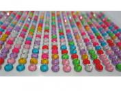 MegaShopping Fancy DIY Bling Muti-colour Crystal Diamond Sticker