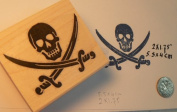 Pirate rubber stamp P41