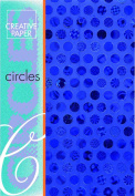 Creative Paper Circles Paper for Card Making, 215gm, Blue