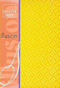 Creative Paper Illusion paper for Card Making, 215gm, A-4 Size