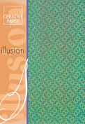 Creative Paper Illusion paper for Card Making, 215gm, A-4 Size, Red