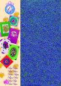 Creative Paper Pearl Paper for Card Making and Scrapbooking, 215gm, Blue