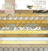 Glitz Design Sunshine in My Soul 20cm by 20cm Paper Pad with 24 Designs, 12 Double-Sided Designs and 2 Sheets Per Design