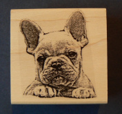 French bulldog rubber stamp WM P31