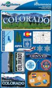 Reminisce Jet Setters 2 3-Dimensional Sticker, Colorado