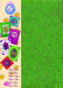 Creative Paper Pearl Paper for Card Making and Scrapbooking, 215gm, Green
