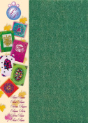 Creative Paper Pearl Paper for Card Making and Scrapbooking, 215gm, X-mas Green