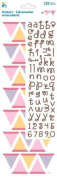 Momenta Build Your Own Banner Alphabet Sticker, Pastel Girl