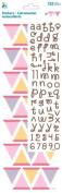 Momenta Build Your Own Banner Alphabet Sticker, Pastel Girl