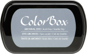 ColorBox Archival Dye Ink Full Size Inkpad, Seattle Sky