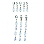7gypsies 12524 Binding Ring Ring Dangles Crystal