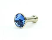 Bling Accessory 50298 Diamond Plug Embellishment, Aquamarine