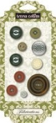 Teresa Collins Designs Fabrications Linen Buttons
