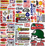 Motocross Dirt Bike Motorcycles Supercross ATV Lot 6 vinyl decals stickers D6014