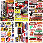 Dirt Bikes Motorcycles Supercross Motocross Lot 6 vinyl decals stickers D6044