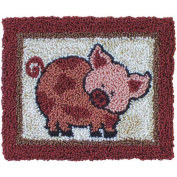 Rachel's Of Greenfield Pink Pig Punch Needle Kit
