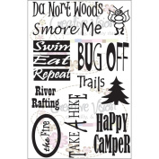 Clear Stamps 10cm x 15cm -Happy Camper
