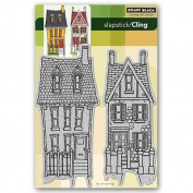 Penny Black 40-091 Victorian Homes Cling Rubber Stamp