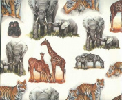 Wild Animals Gift Wrap Paper