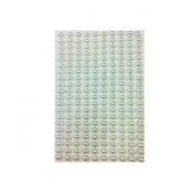 AllyDrew 4mm Self Adhesive Pearl Stickers, 1000pcs