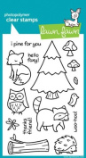 Lawn Fawn Clear Stamps 10cm x 15cm -Critters In The Forest