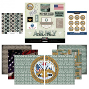 Scrapbook Customs Themed Paper and Stickers Scrapbook Kit, Army