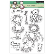 Penny Black Decorative Rubber Stamps, Tutu Sweet