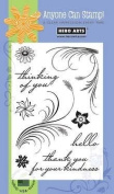 Hero Arts Feather Grass Clear Stamp Set