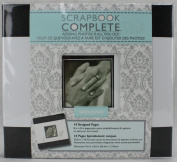Wedding Scrapbook Complete - Adding Photos is All You Do