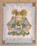 I Wish for You a Hug Wood Mounted Rubber Stamp