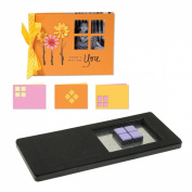 Sizzix Movers & Shapers Dies Kit #1-Card, Horizontal A2, Window Panes 4