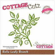 CottageCutz Elites Die 7.9cm x 8.9cm -Bella Leafy Branch