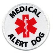 MEDICAL ALERT DOG 6.4cm Sew-on Patch