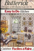 Butterick 6676 Easy to Do Kitchen