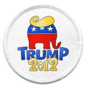 DONALD TRUMP for PRESIDENT Politics 2012 Hair 6.4cm Sew-on Patch
