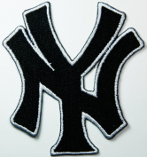 New York Yankees Patches (black Ny Patches) Embroidered Iron on Patch