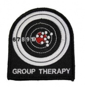The Tactical US Made Group Therapy Combat Army Morale hook and loop Patch