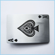 Brand:choi Casino Ace Spade Poker Card Belt Buckle Cs-013
