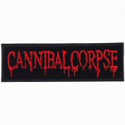 Cannibal Corpse heavy metal punk rock band Embroidered Iron On Patches # WITH.