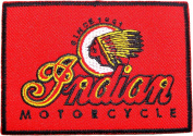 INDIAN Motorcycles Logo t shirts clothing BI03 Sew Iron on Patches